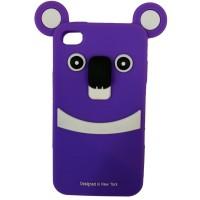 rillakuma iphone 4 - ungu