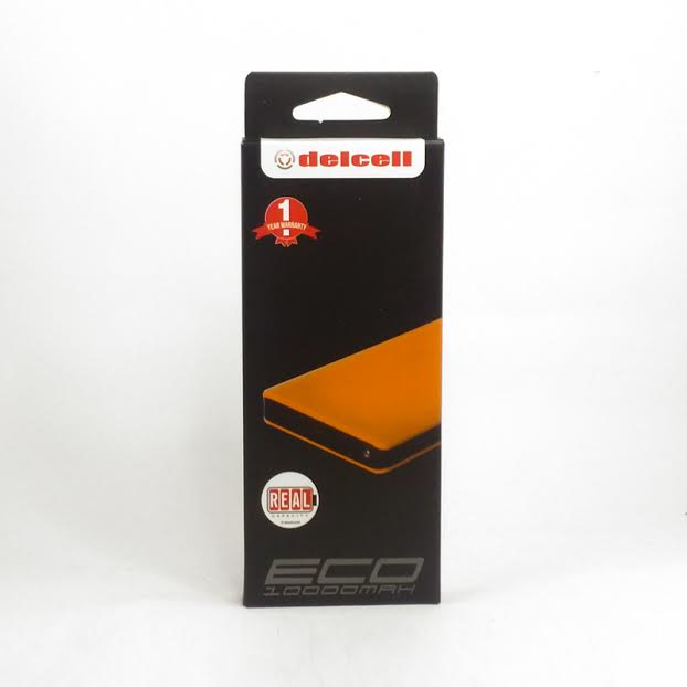 PowerBank Delcell Eco 10000mAh – Orange